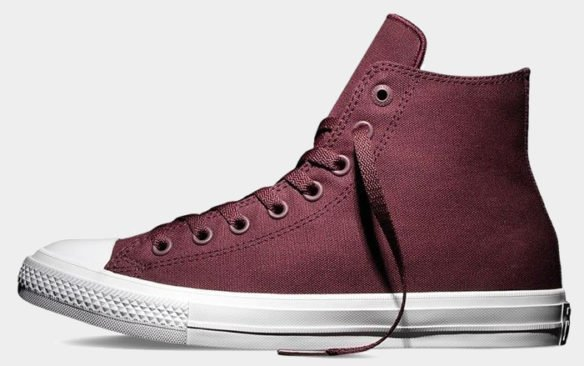 Фото Converse Chuck Taylor All Star II High бордовые - 3