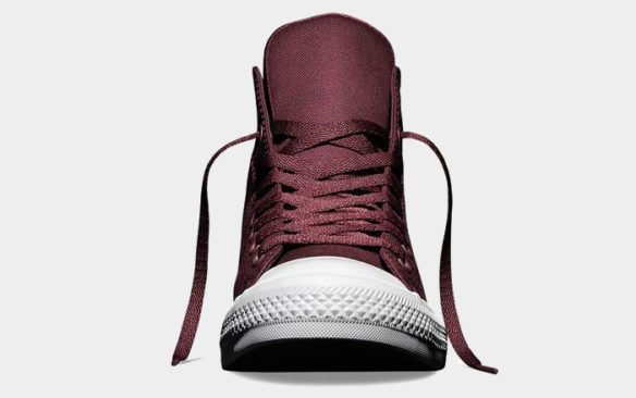 Фото Converse Chuck Taylor All Star II High бордовые - 2