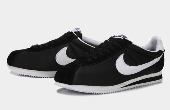 Фото Nike Cortez черные - 3
