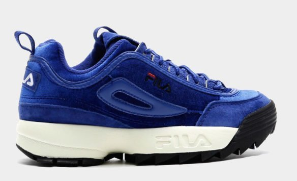 Фото Fila Disruptor V Low W синие - 3