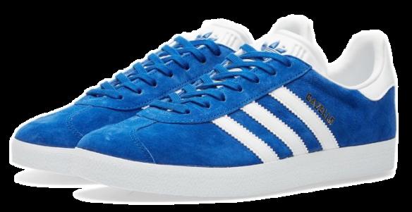 Фото Adidas Gazelle Синие - 1