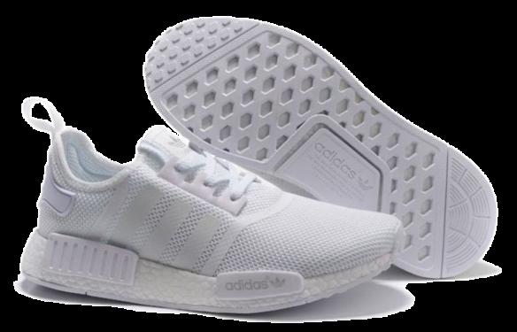 Фото Adidas NMD Boost белые - 2